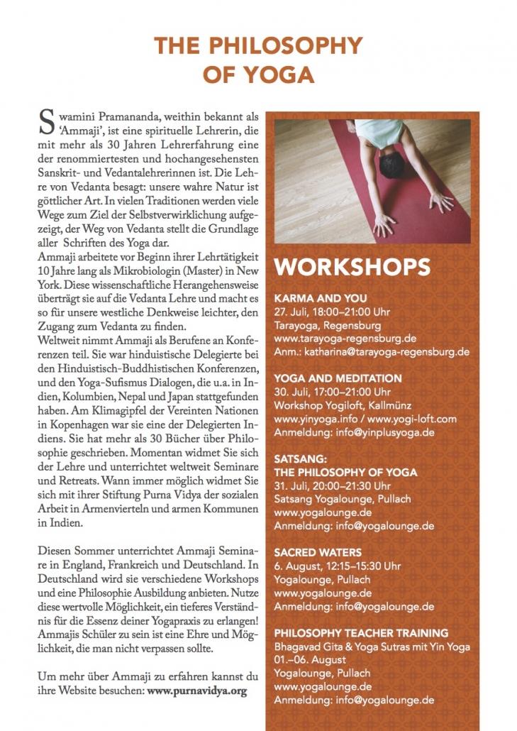 Ammaji Workshops